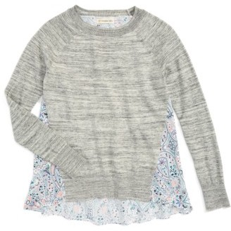 Girl's Tucker + Tate Pullover Sweater $39 thestylecure.com