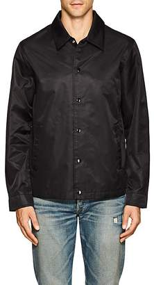 Barneys New York MEN'S TECH-SATIN COACH'S JACKET