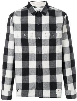 Neighborhood checked front pocket shirt