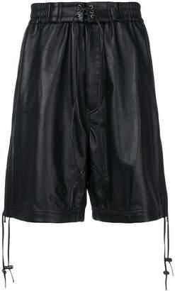 Diesel Black Gold lace up Loxer bermuda shorts