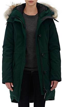 Canada Goose Women's Fur-Trimmed Rossclair Parka $925 thestylecure.com