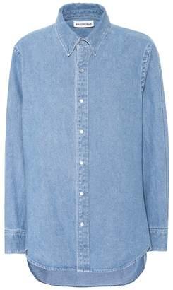 Balenciaga Denim shirt