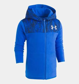 Under Armour Boys' Pre-School UA Digital City Cozy Hoodie Full Zip