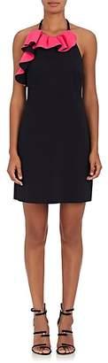 Philosophy di Lorenzo Serafini Women's Ruffled Tech-Jersey Halter Minidress