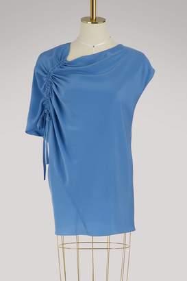 Lanvin Silk asymmetrical top