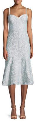 Betsy & Adam Matelasse Brocade Dress