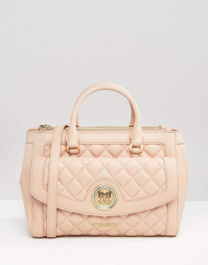 Love MoschinoLove Moschino Quilted Tote Bag