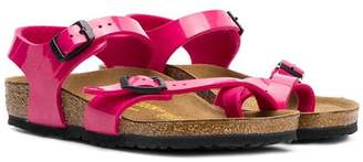 Birkenstock Kids buckled sandals