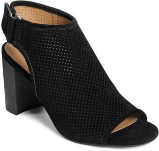 Aerosoles High Impact Peep Toe Booties Women Shoes