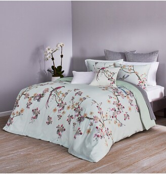 Ted Baker Cherry Blossom Print Duvet Cover & Sham Set
