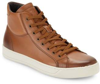Bruno Magli Men's Will Leather High-Top Sneakers