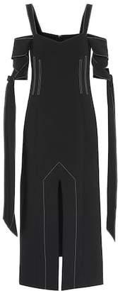 Ellery Crêpe off-the-shoulder dress