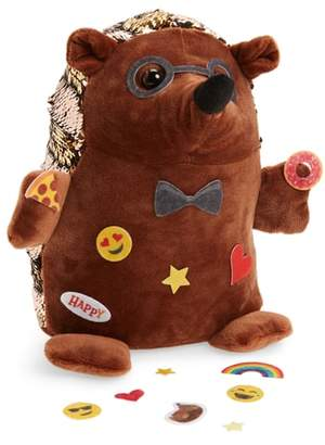 Faber-Castell Sequin Pets Happy the Hedghog Plush Toy with Stickers