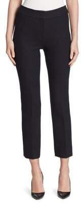 Armani Collezioni Slim Textured Stretch Wool Trousers