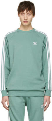 adidas Green 3-Stripes Sweatshirt