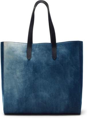 Ralph Lauren Bleached Denim Tote Bag