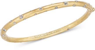 Kate Spade Gold-Tone Crystal Bangle Bracelet