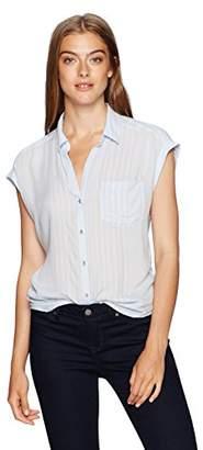 Calvin Klein Jeans Women's Sleeveless Pop Over Blouse