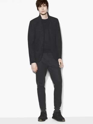 John Varvatos Solid Knit Jacket