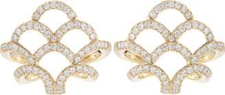 Paige Dana Rebecca Designs Lori Diamond Huggie Earrings
