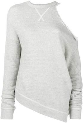 R 13 cut-out shoulder jumper