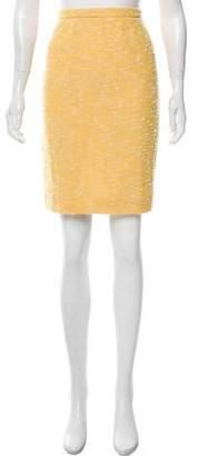Luca Luca Wool Knee-Length Skirt