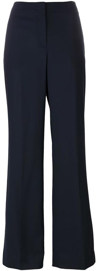 Theory Theory high waist flared trousers