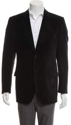Dolce & Gabbana Velvet Two-Button Blazer