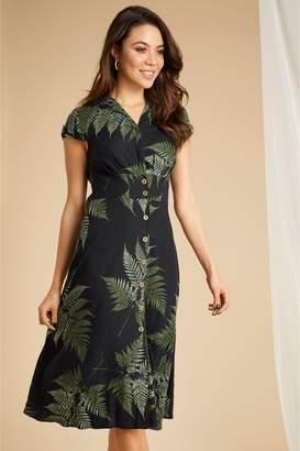 1dde5c4f Next Womens Joe Browns Palm Linen Mix Dress