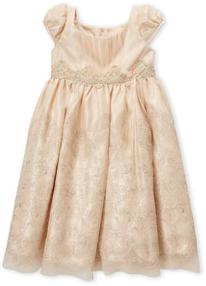Bonnie Jean Girls 4-6x) Gold Holliday Dress