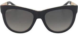 Gucci GG 3739/S 2ENVK - Black/Floral Crystal 55-19-140 mm 55-19-140 mm