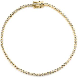 Sydney Evan Yellow Gold Diamond Eternity Bracelet