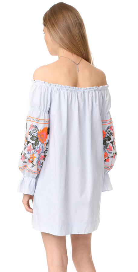 Free People Fleur Du Jour Mini Dress 6