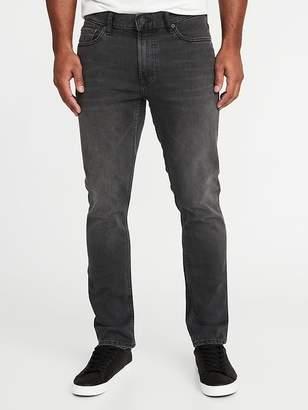 Old Navy Slim Built-In Warm Black Jeans for Men