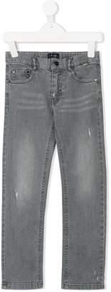 Il Gufo distressed slim-fit jeans