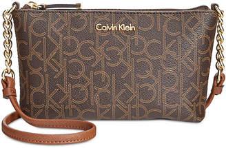 3f120035a5 Calvin Klein Hayden Signature Chain Strap Crossbody