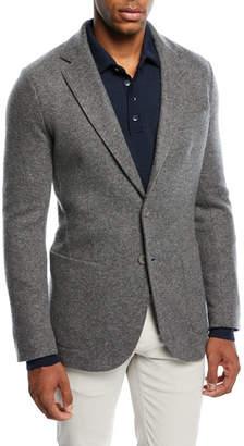 Loro Piana Cashmere-Blend Sweater Jacket