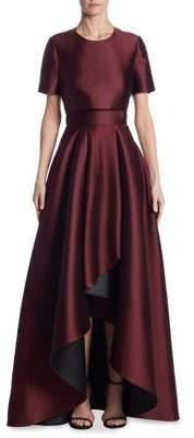 Jason Wu Double-Faced Asymmetrical Gown