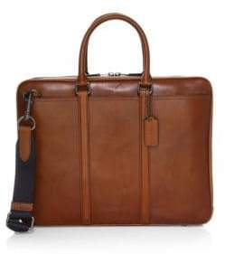 Coach Sport Metro Leather Briefcase
