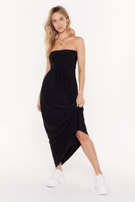 646b1f5d4a52 Nasty Gal All Day and All of the Night Strapless Maxi Dress