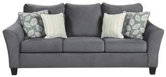 Signature Design by Ashley Sanzero Queen Sofa Sleeper Graphite Gray