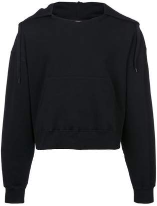 Cmmn Swdn cropped hoodie