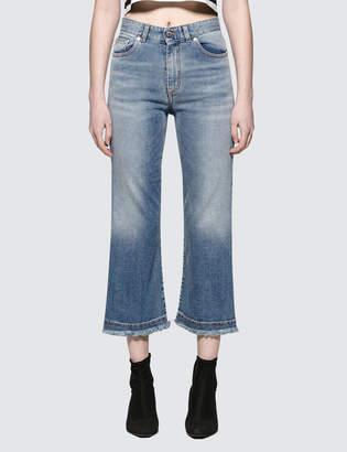 Fiorucci Viva Cropped Kick Flare Jeans