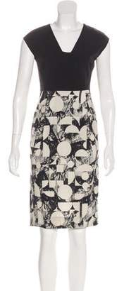 Zero Maria Cornejo Alaïa Sleeveless Knee-Length Dress