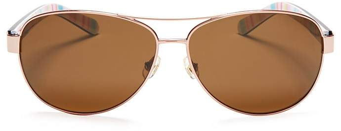 Kate Spadekate spade new york Polarized Dalia Sunglasses, 58mm