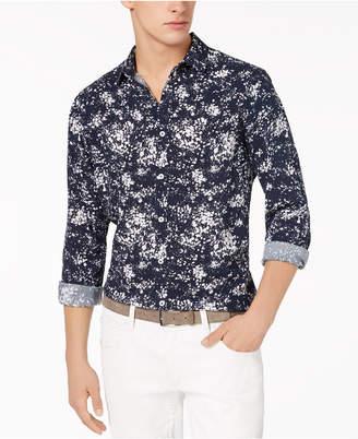 INC International Concepts I.N.C. Men's Miguel Splatter-Print Shirt, Created for Macy's