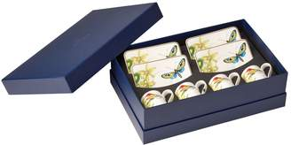 Villeroy & Boch Amazonia Espresso Cup and Saucer Set (Set of 4 Cups and Saucers)