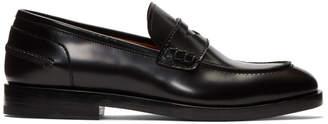 Lanvin Black Classic Loafers