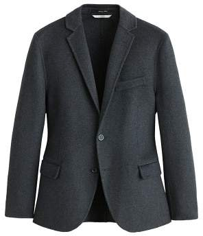 Mango man MANGO MAN Slim-fit wool-blend blazer