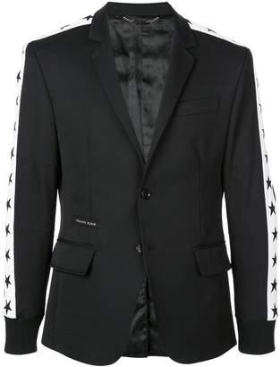 Philipp Plein star stripe blazer